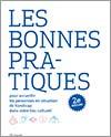 couverture de la brochure «Les bonnes pratiques pour accueillir les personnes en situation de handicap dans votre lieu culturel»